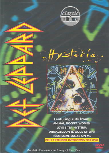CLASSIC ALBUMS:HYSTERIA BY DEF LEPPARD (DVD)